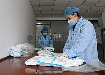 CHINA-BEIJING buchungstransformationsSchutzAnzuges PRODUCTION (CN)