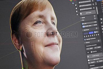 Avatar Angela Merkel