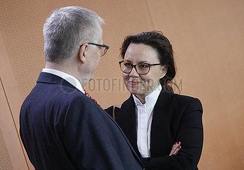 Kabinettsitzung  Bundeskanzleramt  4. Maerz 2020