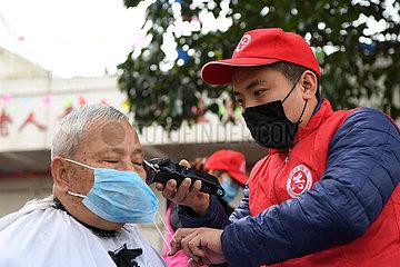 CHINA-CHONGQING-Altenpflege CENTER -Volunteer (CN)