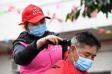 CHINA-CHONGQING-Altenpflege CENTER -Volunteer (CN) CHINA-CHONGQING-Altenpflege CENTER -Volunteer (CN) CHINA-CHONGQING-Altenpflege CENTER -Volunteer (CN)
