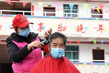 CHINA-CHONGQING-Altenpflege CENTER -Volunteer (CN) CHINA-CHONGQING-Altenpflege CENTER -Volunteer (CN) CHINA-CHONGQING-Altenpflege CENTER -Volunteer (CN) CHINA-CHONGQING-Altenpflege CENTER -Volunteer (CN)
