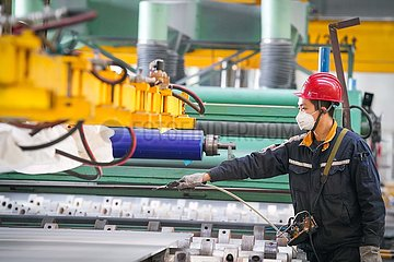 CHINA-HEILONGJIANG-HARBIN-legierungs PRODUCTION Erhöhungs (CN)