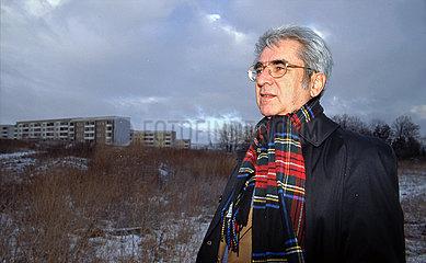 Herbert Rosendorfer  Richter und Schriftsteller  Naumburg  1995