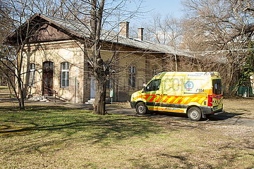 UNGARN-BUDAPEST-COVID-19-Bestätigte Fälle