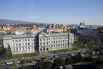 Stadtansicht Zagreb