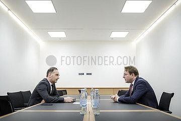 BM Maas trifft Oliver Varhelyi in Zagreb