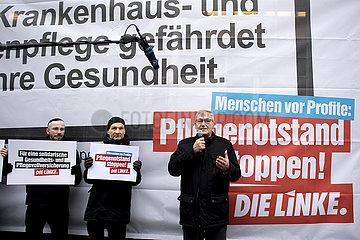Linke - Protest Pflegenotstand