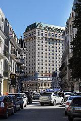 Batumi  Georgien  Das Wyndham Hotel mit dem Princess Casino