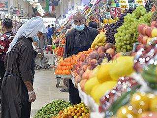 KUWAIT-KUWAIT CITY-CORONAVIRUS-OLD MARKET-BUSINESS