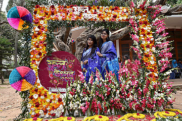 BANGLADESH-DHAKA-WOMEN'S DAY-FLOWER FESTIVAL BANGLADESH-DHAKA-WOMEN'S DAY-FLOWER FESTIVAL