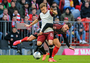 (SP)GERMANY-MUNICH-SOCCER-BUNDESLIGA-BAYERN MUNICH VS AUGSBURG