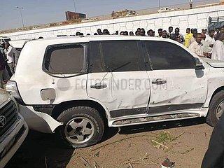 SUDAN-KHARTOUM-PM-Attentats-ÜBERLEBEN