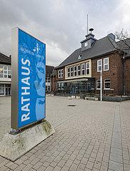Rathaus  Monheim am Rhein  Nordrhein-Westfalen  Deutschland