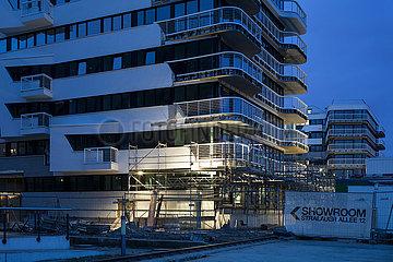 Neubauprojekt WAVE watersite living in der Stralauer Allee in Berlin-Friedrichshain
