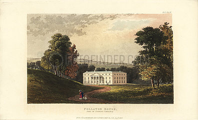 Follaton House  seat of Stanley Carey  Esq.