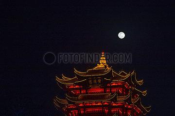 CHINA-WUHAN-MOON (CN)