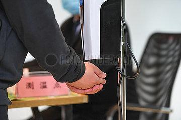 CHINA-HUNAN-CHANGSHA-COVID-19-ROBOT-EPIDEMIC PREVENTION (CN)