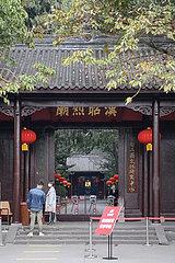 CHINA-SICHUAN-CHENGDU-SPRING VIEW (CN)