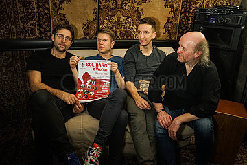 POLAND-WARSAW-ARTISTS-CORONAVIRUS-SUPPORT