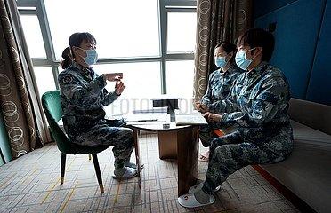 CHINA-HUBEI-WUHAN-MEDICAL WORKER (CN)