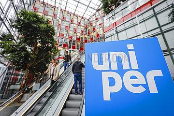 Uniper SE Hauptverwaltung  Duesseldorf  Nordrhein-Westfalen  Deutschland  Europa