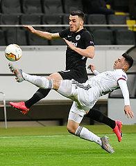 (SP)GERMANY-FRANKFURT-UEFA EUROPA LEAGUE-FRANKFURT VS BASEL (SP)GERMANY-FRANKFURT-UEFA EUROPA LEAGUE-FRANKFURT VS BASEL