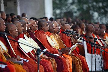 SRI LANKA-COLOMBO-COVID-19-BUDDHIST PRAY