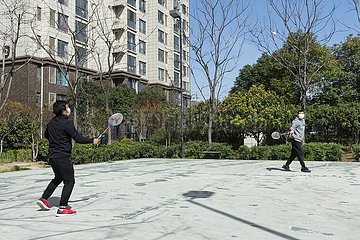 CHINA-HUBEI-XIANGYANG-WEATHER-OUTDOOR ACTIVITY (CN)