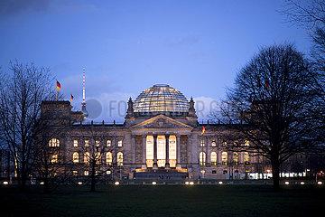 Reichstag  Deutscher Bundestag