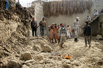 AFGHANISTAN-NANGARHAR-ROOF COLLAPSE