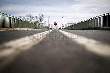 Schliessung der Grenze zwischen Deutschland und Polen