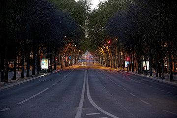 PORTUGAL-LISSABON-COVID-19