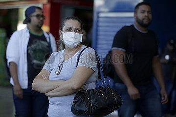 BRASILIEN-BRASILIEN-COVID-19-FIRST TOD CASE
