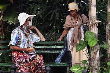 KUBA-HAVANA-COVID-19-KREUZFAHRTSCHIFF