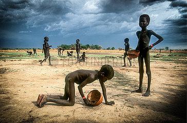 Hungersnot im Sudan (Archivbild)