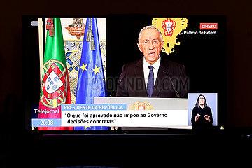 PORTUGAL-LISSABON-COVID-19-Notstand