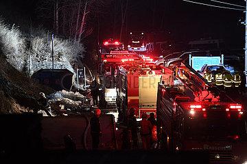 (SpotNews) CHINA-SHANXI-TAIYUAN-MOUNT WUTAI-FIRE (CN) (SpotNews) CHINA-SHANXI-TAIYUAN-MOUNT WUTAI-FIRE (CN)