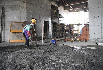 CHINA-CHONGQING-CONSTRUCTION-WIEDERAUFNAHME (CN)