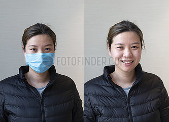 CHINA-HUBEI-XIANGYANG-MEDICAL PERSONAL-abweichungs SMILES (CN)