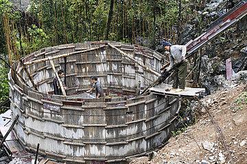 CHINA-GUANGXI-NANNING-WATER SUPPLY-DRINKING Armutsbekaempfung (CN)
