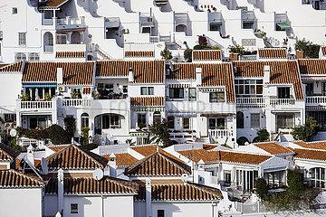 Apartmenthaeuser im Urlaubsort Nerja  Andalusien  Spanien  Europa