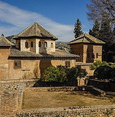 Alhambra  Granada  Andalusien  Spanien  Europa