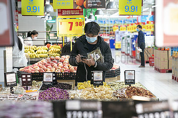 CHINA-HUBEI-WUHAN-Wohngemeinschaften Kommerzielle STELLEN-REOPEN (CN)