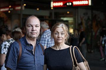 Lutz Huebner und Sarah Nemitz