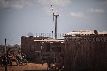 Windenergie in der Wueste