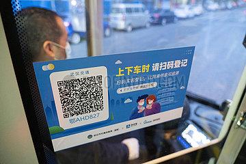 CHINA-HUBEI-WUHAN-COVID-19-Buslinien-WIEDERAUFNAHME (CN)
