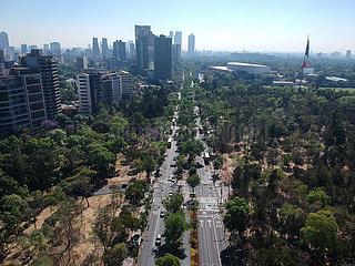 MEXIKO-MEXICO CITY-COVID-19