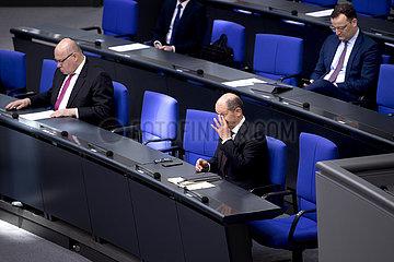 Altmaier  Scholz  Spahn - Budget Coronavirus