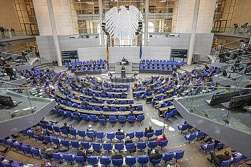 Sitzung Bundestag